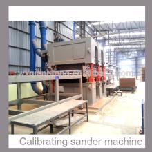 MDF lourd / panneau de particules / HPL calibrant la machine à poncer