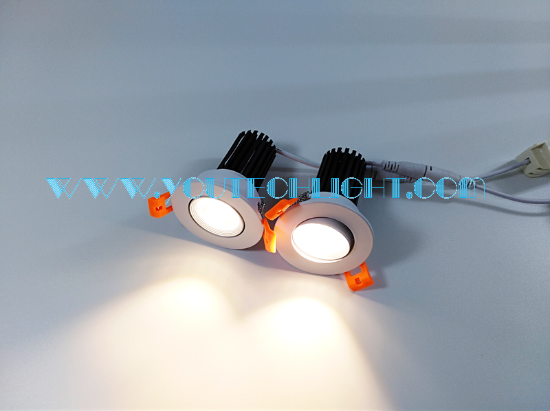 5w LED downlight testing