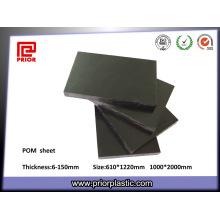 Высокая плотность инженерных листа пластмассы pom
