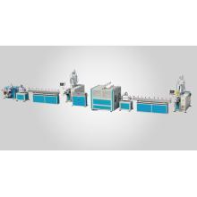 PVC/TPU Fiber Reinforced Hose/pipe Extrusion line