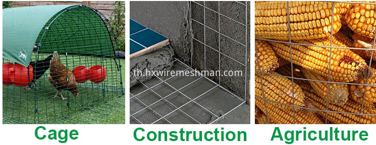 welded wire mesh use