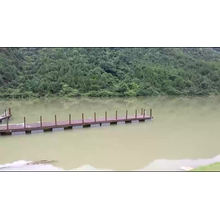 Aluminum marine floating mooring dock for sale