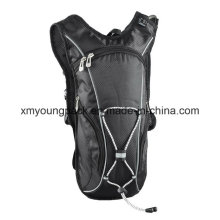 Black Lightweight Nylon Hydration Back Pack Hydration Bag
