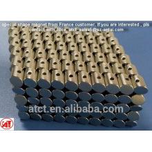 Spezielle Form Magnet mit speziellen Loch aus Frankreich Design/spezielle Kegel/spezielle Zylinder