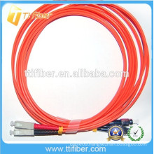 FC-SC MM Duplex 2ft to10ft Fiber Optic Patch Cord