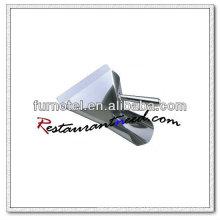 U005 Stainless Steel Single Handle French Fry Scoop