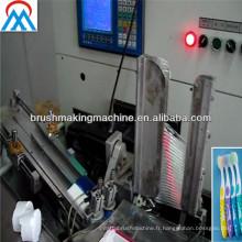 Machine de tufting de brosse à dents / machine de tufting de brosse à dents de commande numérique par ordinateur / machine de fabrication de tootbrush à grande vitesse