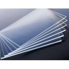 прозрачный лист PVC
