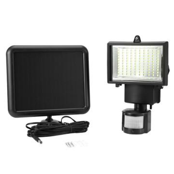 Waterproof Wireless Wall Mount Lighting Upgraded Super Bright 60 LEDs Outdoor Solar Motion Sensor Light
