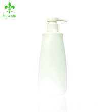 Heat sales custom printed trademark white plastic PE shampoo bottle bath lotion bottle