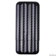 Carbon fiber humidor case 3 tubes