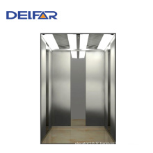 8 personnes Hairline Stainless Steel Passenger Elevator avec certificats CE