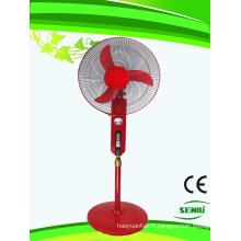 16 pouces 24V DC Stand ventilateur rouge Big Timer (SB-S-DC16O)
