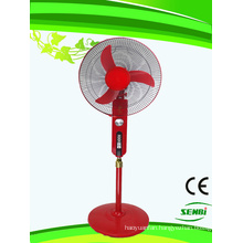 16 Inches 24V DC Stand Fan Red Big Timer (SB-S-DC16O)