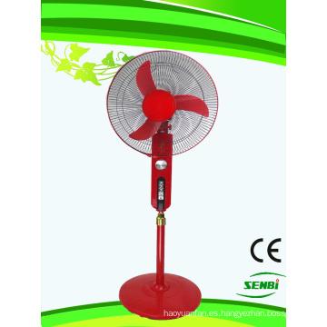 16 pulgadas AC110V Stand Fan Red Big Timer (SB-S-AC16O)