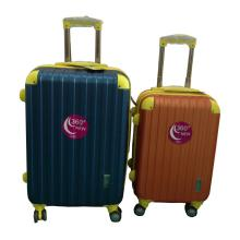Factory made hot-sale for China New Fashion Elegant Hard Pc Spinner Trolley Suitcase Travel Case, Trolley Case Fashion Color ABS Luggage Set with Airplane Wheels export to Gabon Factories
