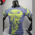 2017 ODM blank compression shirt wholesale colorful school uniform custom design good sublimated compression uniforms
