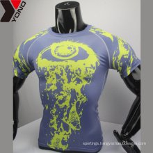 2017 ODM blank compression shirt wholesale colorful school uniform custom design good sublimated compression uniforms