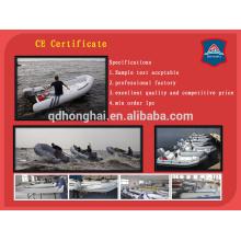 Alta calidad inflable barco de la costilla con el CE