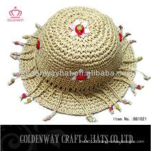 Chapeaux Crochet Ecoliers Pour Bébés Avec Accessoire