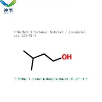 Additief voor levensmiddelen 3-methyl-1-butanol Cas 123-51-3