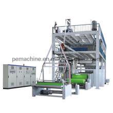 Ensemble de machine de soufflage de films en tissu non tissé automatique (CE)
