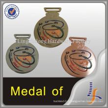 Médaille en métal d'Oman avec la gravure de logo adaptée aux besoins du client