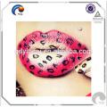 Etiqueta engomada temporal del tatuaje del labio de Fashional no tóxico ecológico para el maquillaje en Foshan
