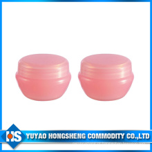 Hs-Pj-007c 20ml forma oval tampa do parafuso de plástico Jar