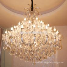 American Style Glass Arms Crystal Chandelier Home Decor Patriot Designer Pendant Lighting