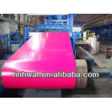 Bobina de aluminio recubierta de color con PVDF / PE fabricante