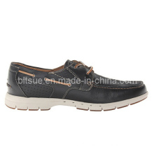 New Style Men Dress Leather Boat Shoes