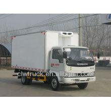 Precio de fábrica camiones refrigerados usados, 4x2 camiones frigoríficos pequeños