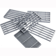 Galvanized Steel Grating Industrial Stair Tread