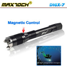 Maxtoch DI6X-7 LED Scuba Diving Flashlight Waterproof