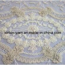 Tissu de dentelle respirant pour la robe / tissu / Grament