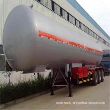 China Factory 2-3 Axles 30-60m3 LPG Tank Truck
