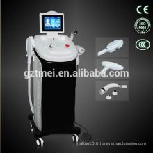 Vertifal RF E-light laser machine à épiler / IPL épilation