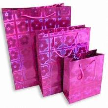 Fashion Customized Kraft Paper Shopping Bag
