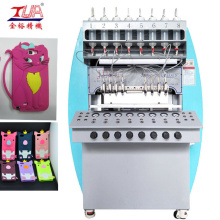 OEM for Silicone Case Making Equipment Full Automatic Silicon Mobile case Dispenser Machine supply to Spain Exporter