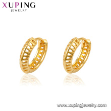 96536 Xuping 24K gold Plated costume African style Huggie earrings