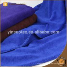 70 * 140cm La fábrica personalizó el color azul se divierte la toalla de cara fresca respetuosa del medio ambiente