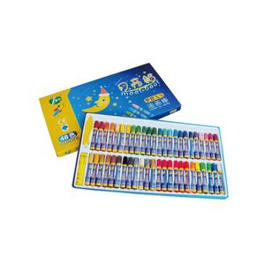 48 Color Oil Pastel Crayon Pastel Watercolor Brush