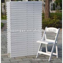 Cadeira de dobradura plástica exterior do jardim para eventos alugado