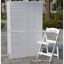 Пластиковые открытый сад складной стул для проката