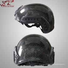 Casco táctico al aire libre CS de casco de combate real