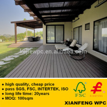 Waterproof Durable WPC Wood Plastic Composite Flooring Boards For Outdoor Boardwalk, Decking