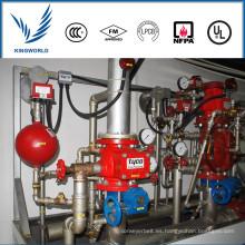 China Buen precio Válvulas de control de alarma de flujo de agua AV 1 FM UL