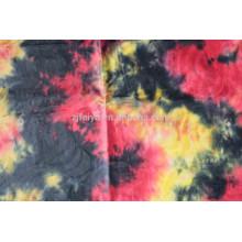 Nigérian Design Polyester / coton imprimé brocade guinée robe de mariée tissu bazin en stock