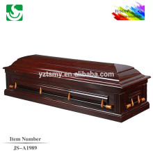 Trade Assurance hot selling traditional best selling wooden casket